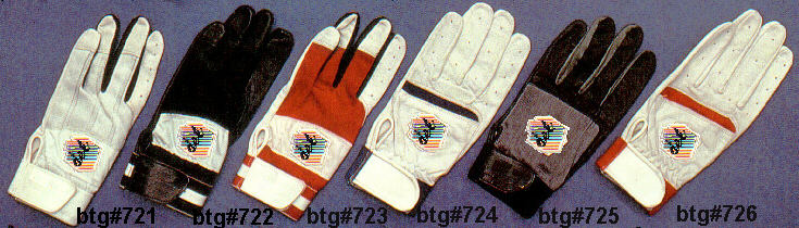 batting glove range