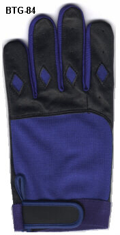 batting glove black